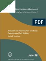 Dalit Descimination in School