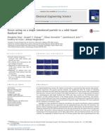 ForcesActingOnSingleParticleSolLiqFluidizedBed