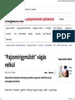 _Pajzsmirigyműtét_ vágás nélkül - Patika Magazin Online.pdf