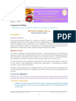 Secuencia Didactica 6 Costo de Estructuras y Cubiertas de Techos