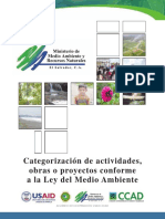 Categorizacion de Actividades Obras o Proyectos Conforme a La Ley Del Medio Ambiente[1]_noPW