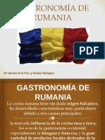 Presentación Gastronomia Rumana