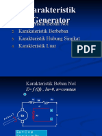 Karakteristik Generator Dc