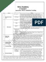 EEE Job Preparation ( PDB)