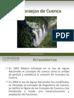 Conagua - Generalidades Consejos de Cuencas