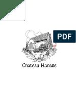 Chateau Hanare Drinks July 2018