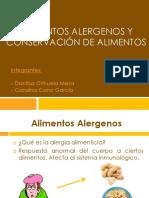 Conservación de Alimentos y Alimentos Alergenos[1]