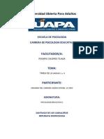 Tarea 2 Psicologia Educativa Johanny