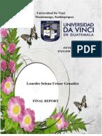 Final Proyect Selena Urizar