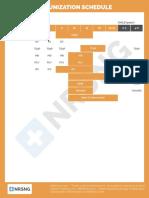 Pharm 114 Immunization Schedule
