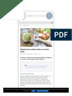 Libredelacteos Com Alimentacion Alimentos