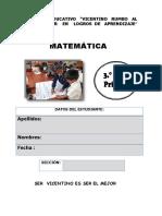 MATEMÁTICA CALLAO 3°
