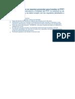 Qué Documentos Se Requiere Presentar Para Tramitar El PTP
