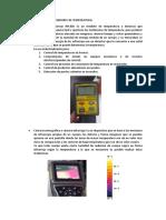 Funcionamiento de Medidores de Temperatura
