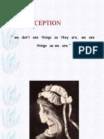 OB Perception