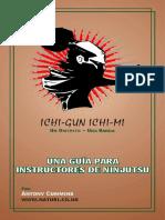 Ninjutsu Histórico - Antony Cummins - Una Guía Para Instructores de Ninjutsu -Spanish