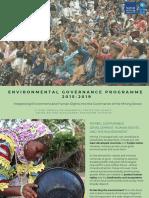 Brochure - Environmental Governance Programme