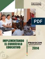 Implementando El Curriculo Educativo