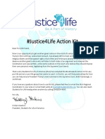#Justice4Life Action Kit