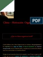 CLIMA-MOTIVACION-ORGANIZACIONAL