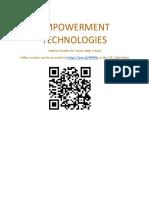 Student Reader Empowerment Technologies