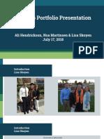 eduw 696 portfolio presentation
