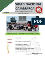 Informe VISITA TECNICA A IGP  Y A CISMID- UNI  ----SISMOLOGÍA