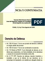 7.- Dra. Carmen Alvarez Goicochea - Determinación de Ausencia y Contumacia