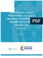 Plan Nacional Consumo Alcohol 2014 2021