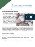 1- Estructura Financiera