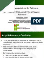 INF016 02 Reorientacao Da Engenharia de Software