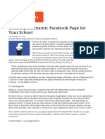 Creating a Dynamic Facebook Page for Your School _ Edutopia