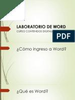 Laboratorio de Word