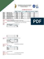 Examen Final de Excel Basico 2016