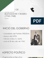 Gobierno de José Luis Bustamante y Rivero