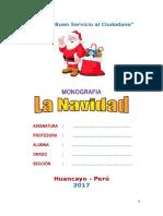 Monografìa La Navidad