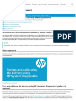 HP Notebook PCs - Testing and Calibrating the Battery (Windows) _ HP® Customer Support