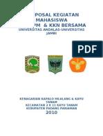 Proposal Kegiatan Mahasiswa