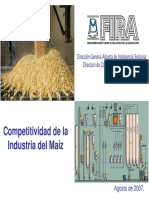 MAIZ Occidente - Analisis de Competitividad
