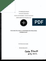 Ing. Fundaciones Superficiales