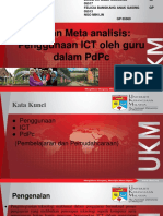 Kajian Meta Analisis Penggunaan ICT Oleh Guru Dalam PdP Bahasa Melayu 1