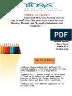 36196831 22902527 Financial Ratio Analysis Infosys Presentation