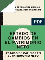 Exposición Patrimonio Neto