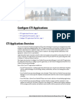 Configure Cti Applications