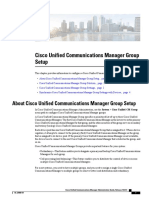 Configure and Administer CUCM Group