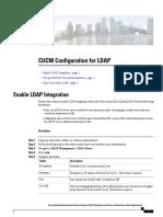 CUCM Configuration for LDAP