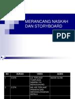 merancang storyboard iklan d tv