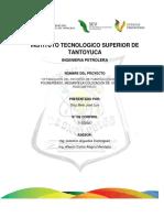 Informe Tecnico- Optimizacion Del Proceso de Fabricacion de Asfalto Polimerizado, Mediante La Colocacion de Un Sensor1