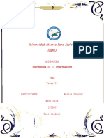 Reporte II Tecnologia - Copia