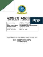Cover, Pengesahan Dan Verifikasi Kelengkapan